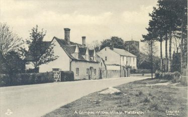 The former Green Man Public House ~1960 | Postcard