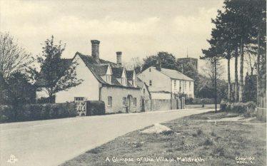 The former Green Man Public House ~1960 | Postcard