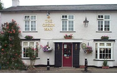 The Green Man Public House, Dunsbridge Turnpike, which may be where Mary Nunn discovered her purse was missing | greenmanshepreth.co.uk