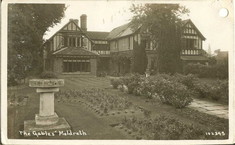 102343 The Gables, Meldreth [High Street] | Bell's postcard supplied by Ann Handscombe