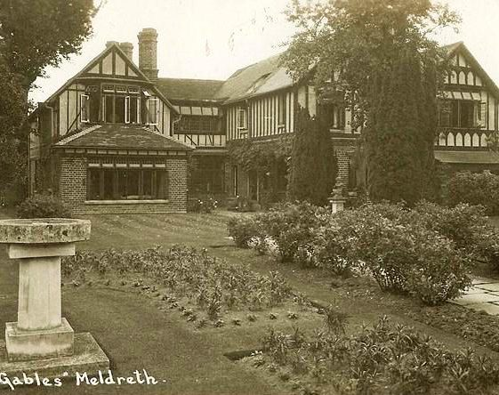 The Gables, High Street, Meldreth, home of Mr and Mrs Dyne Elin. c.1930 | Photo supplied by Ann Handscombe
