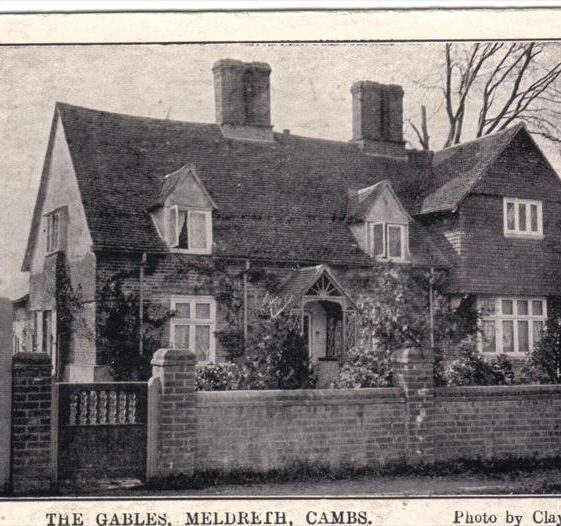 The Gables, High Street, Meldreth c.1905 | Photo supplied by Joan Gane