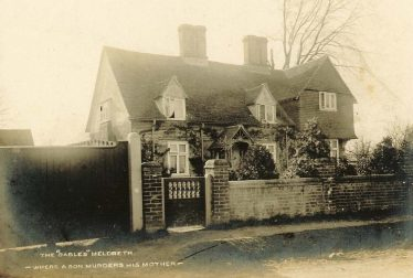 The Gables, c. 1904   Postcard supplied by Joan Gane