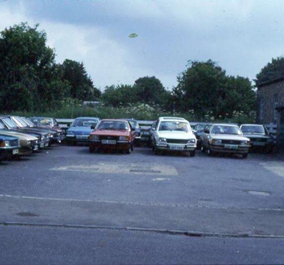 The Garage, High Street, Meldreth.  July 1982 | Photo supplied by Ann Handscombe