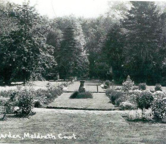 Meldreth Court garden, High Street, Meldreth c.1920 | Photo supplied by Tim Gane