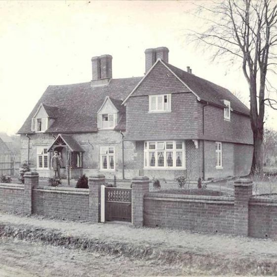 The Gables, High Street, Meldreth c.1920 | Photo supplied by John Gipson