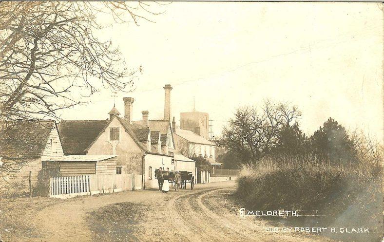 <b>North End: The Green Man Public House</b> | Robert H Clark postcard, c. 1905