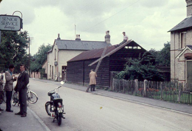<b>High Street: One Stop is in the distance, 1960</b> | Ann Handscombe