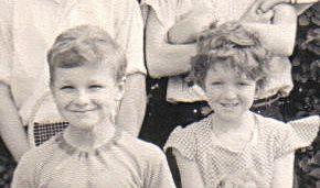John and Hilary Ridout, 1959 | Photograph courtesy of Hilary Ridout
