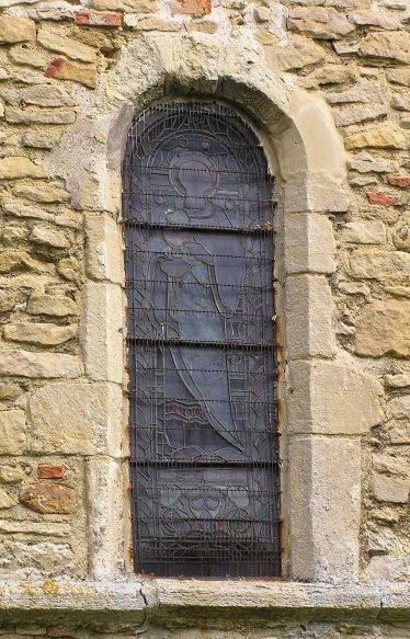 Mid-12thc round-headed window in the chancel | Peter Draper