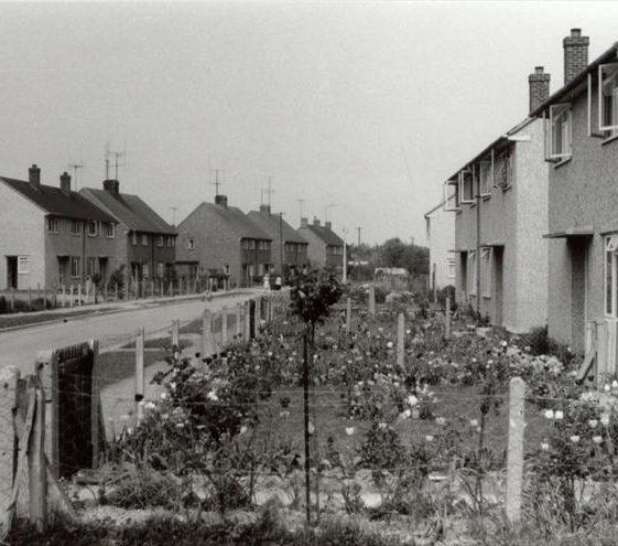 Howard Road 20/5/1960. The houses were built in 1950/52. | Ann Handscombe