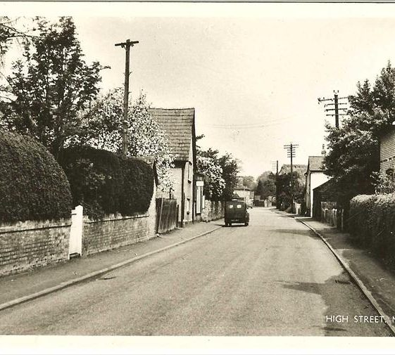 High Street, Meldreth. c. 1960 | Photo supplied by Brian Clarke