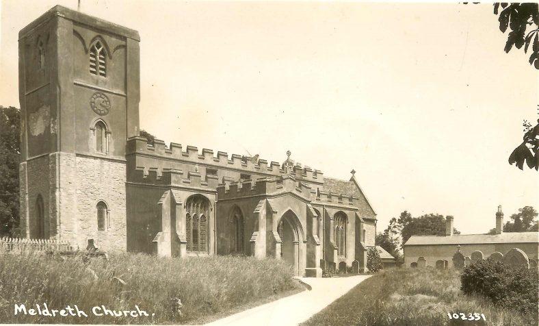 Holy Trinity Church, Meldreth | Bell's Postcard