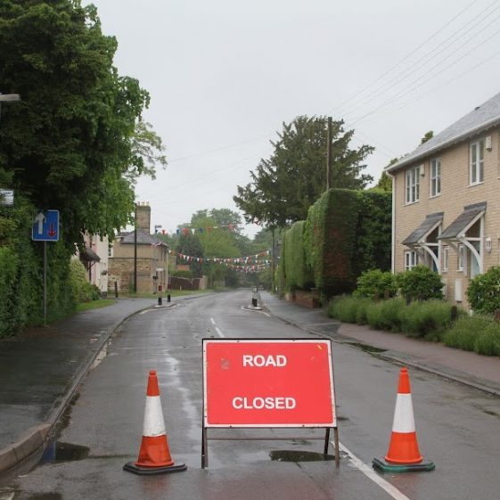 Road Closed | Photograph by Malcolm Woods