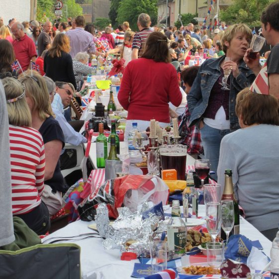 Street party scene | Photograph by Andrew Betts