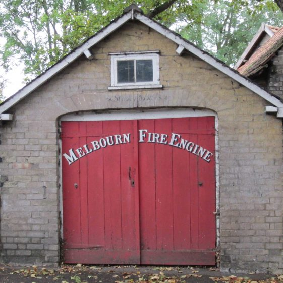 The Fire Engine House in Station Road | Photograph by Kathryn Betts, October 2011