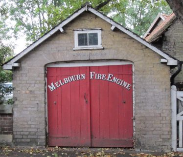 The Fire Engine House in Station Road, Melbourn | Photograph by Kathryn Betts, October 2011