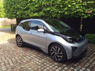 The first BMW i3 electric car owned by Richard and Jane Remnant | Richard Remnant