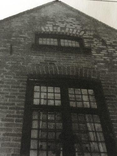 Showing style of brickwork around windows   Joan Gane 2008