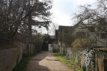 Brewery Lane looking towards North End | John Crawforth, March 2014