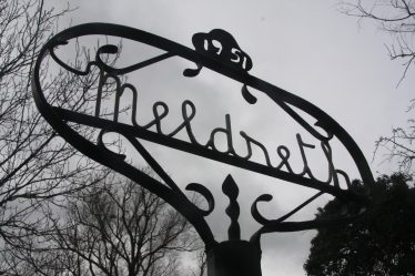 Meldreth Sign, made by Percy Cox, 1951 to commemorate the Festival of Britain | John Crawforth March 2014