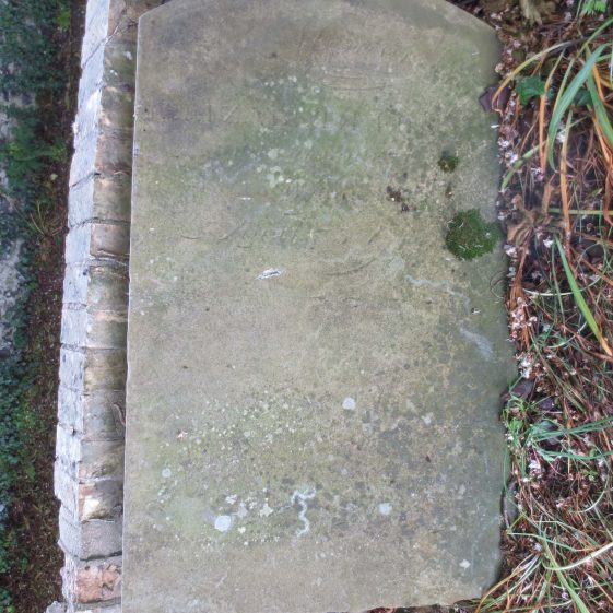 unidentified headstone | Photograph by Kathryn Betts