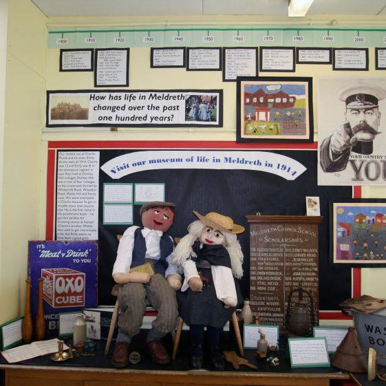 The display in Mr Jones' classroom