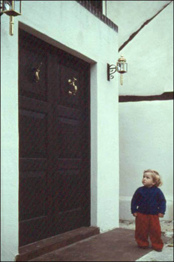 1959 or 1960 Porch and Entrance Doors | Ann Handscombe