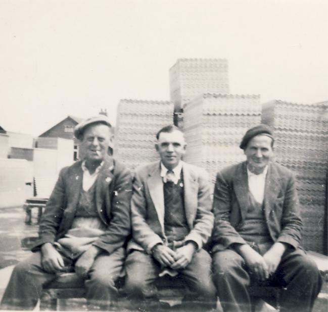 In the 1940s<br> L to R: Mr ____ Ford, Bob Woods, _______ What is the connection between these three gentlemen? | Dolly Catley