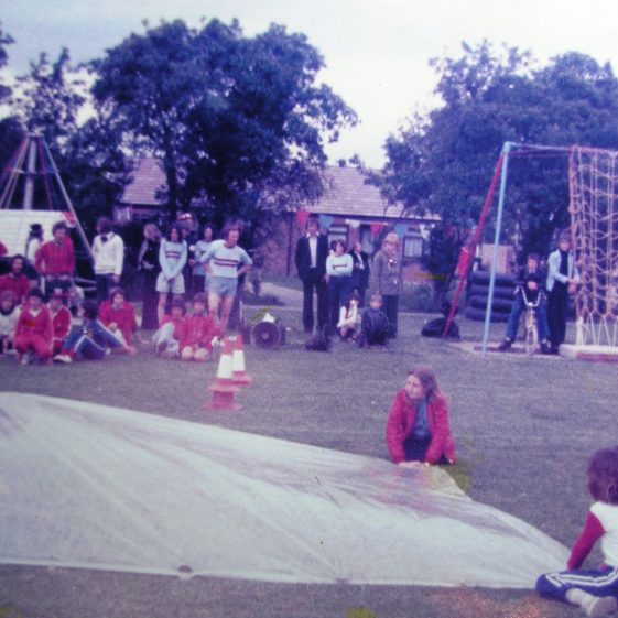 It's a Knockout on the recreation ground | W.I Scrapbook 1977