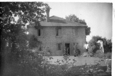 My house at Station Hill where the house martins nested | Ken Winter