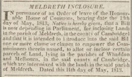 28th May 1813 | Cambridge Chronicle