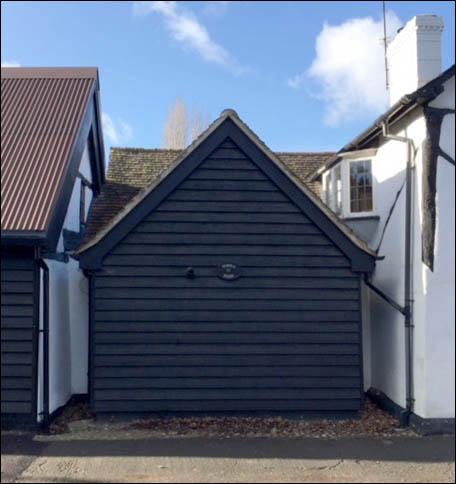 The rebuilt porch | Alan Williams