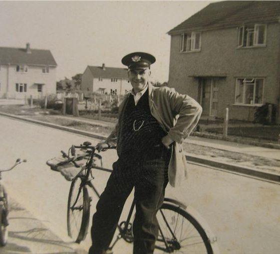 Charles (Jim) Rayner postman in Howard Road 1957 - 1961.  Jim was the landlord of the Dumb Flea in Chiswick End until it closed in 1957. | Joan Fallon