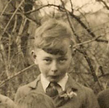 Jack Farnham, pictured in a school photograph c. 1936 | Photograph courtesy of Dennis Dash