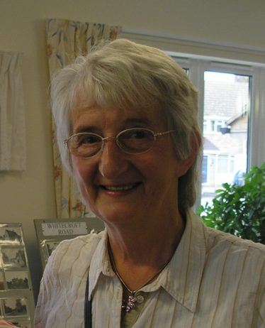 Kathleen Murden, nee Winter pictured at one of the Local History Group coffee mornings in Meldreth CAP. July 2007 | Photo by Tim Gane
