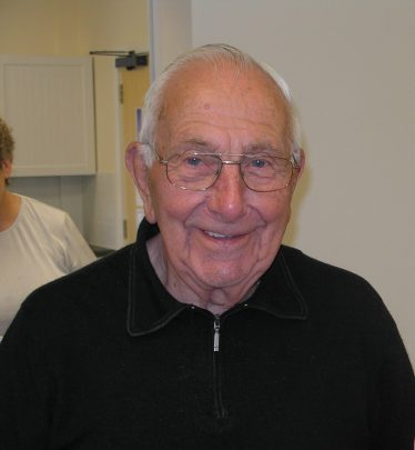 Keith Jacklin, aged 90, photographed at one of the MLHG coffee morning in 2007   Tim Gane