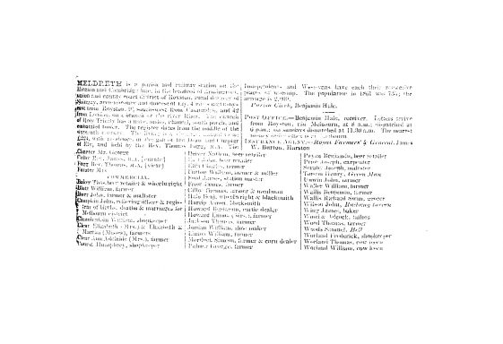 Kelly's Directory, 1864