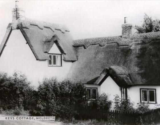 Keys Cottage, High Street, Meldreth. 20/5/1960 | Photo supplied by Ann Handscombe