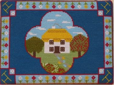 Ann Handscombe, Meldreth 2012 | Cross stitch