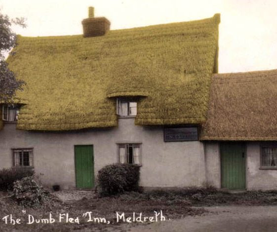 The Dumb Flea - a two bay cottage | Bell's Postcard, 1920s
