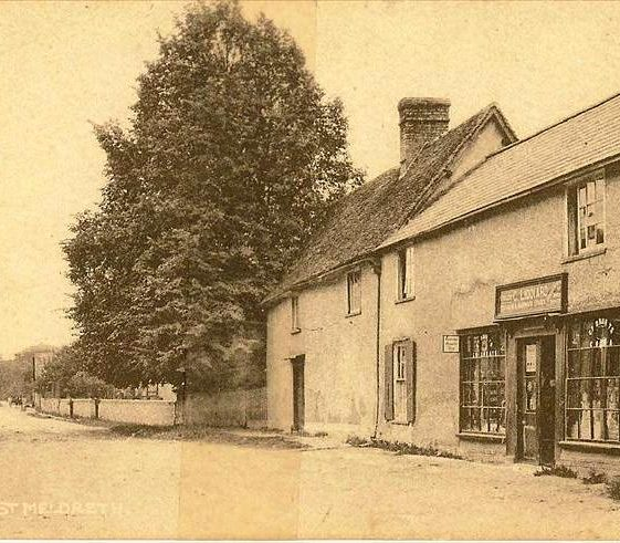 Liddiards Store, High Street, Meldreth. c.1935   Photo supplied by Ann Handscombe