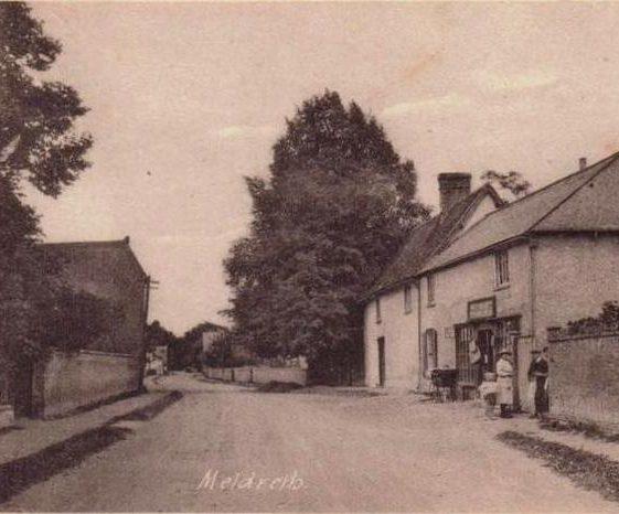 Liddiards Shop, High Street, Meldreth c.1922 | Photo supplied by Joan Gane