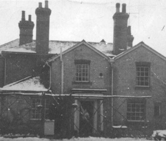 Rear of Longmead, High Street, Meldreth. c.1955 | Photo supplied by Don Braggins