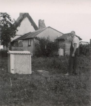 'Mac' Kefford in the back garden of Fordham's Cottage ~1950s | Freda Kefford