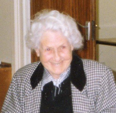 Margaret Jones (1912 - 2011)