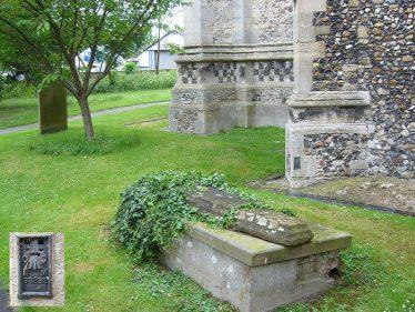 Benchmark at Melbourn Church | Iain R Macaulay 2007