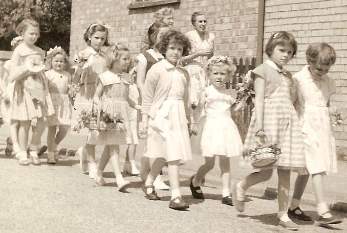 May Day Procession, 1960 | Photograph courtesy of Hilary Ridout