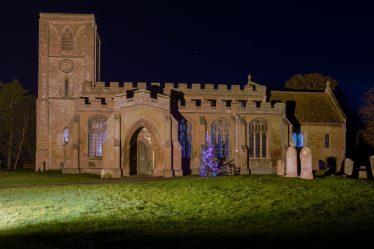 Meldreth Holy Trinity Church, Christmas 2017 | Malcolm Woods