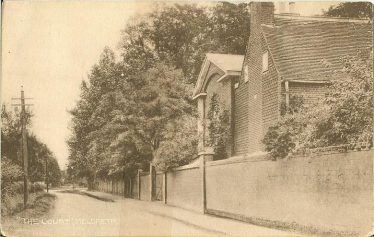 Meldreth Court ~1930 | Postcard